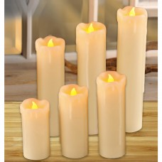 ManoPatio 6 Piece Flameless Candle Set MNOP1005