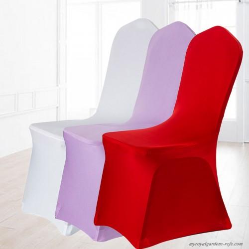 16 colores puros fundas sillas comedor elastica para bodas ...