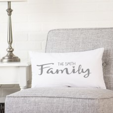 Cathys Concepts Personalized Family Lumbar Pillow YCT4588