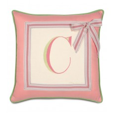 Eastern Accents Pinkerton Eli Monogram Throw Pillow EAN3835