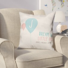 Harriet Bee Didomenico Dream Big Little One Throw Pillow HRBE2524