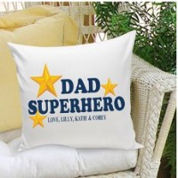 JDS Personalized Gifts Personalized Gift Parent Cotton Throw Pillow JMSI1995