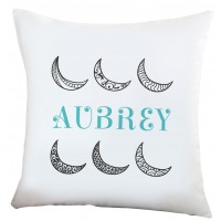 Monogramonline Inc. Personalized Moon in the Sky Cushion Cover MOOL1072