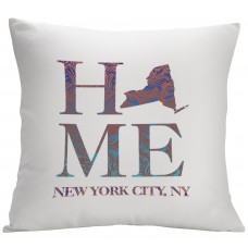 Monogramonline Inc. Personalized State Design Decorative Pillow Cushion Cover MOOL1049