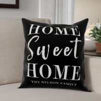 Red Barrel Studio Elezi Sweet Home Throw Pillow RDBA3524