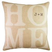 TheWatsonShop Personalized Home Cotton Throw Pillow WTSN2491