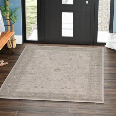 Mistana Shailene Light Gray Area Rug MTNA1682
