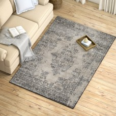 Ophelia Co. Gaines Mist Blue/Castle Gray Area Rug OPCO3312
