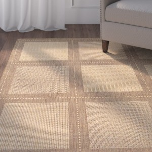 Charlton Home Westlund Natural/Beige Area Rug CHRL2923