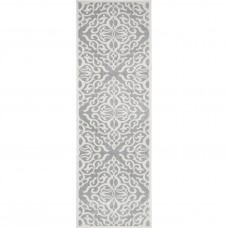Darby Home Co Shoals Silver Area Rug DRBC2162