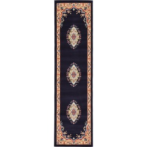 World Menagerie Astral Navy Blue Area Rug WDMG6094