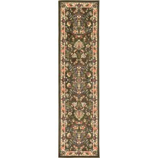 World Menagerie Essehoul Green Area Rug WRMG3615