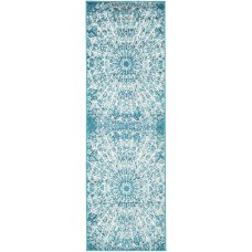 World Menagerie Keswick Turquoise Area Rug WRMG2369