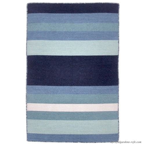Beachcrest Home Ranier Hand Woven Blue Indoor Outdoor Area Rug Bchh4960