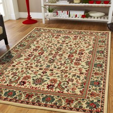 Bloomsbury Market Prendergast Western Cream Indoor/Outdoor Area Rug DRXF1030