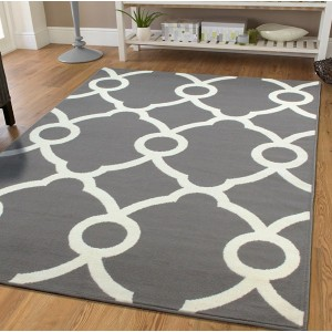 Wrought Studio Pleione Gray Indoor/Outdoor Area Rug VARK7271