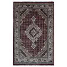 Astoria Grand One-of-a-Kind Seaway Hand-Woven Wool/Silk Rectangle Red Area Rug ARGD3136