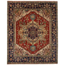 Bloomsbury Market One-of-a-Kind Briggs Hand-Knotted Wool Dark Copper Area Rug BLMS3121