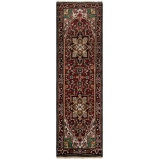 Bloomsbury Market One-of-a-Kind Lexia Handmade Wool Red Area Rug BLMK3780