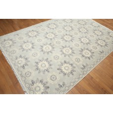 Canora Grey One-of-a-Kind Groggan Hand-Knotted Wool Beige/Gray Area Rug OROH1127