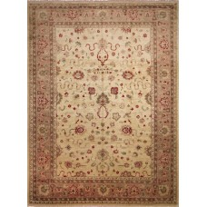 Darby Home Co One-of-a-Kind Leann Hand-Knotted Ivory Premium Wool Area Rug DABY3816