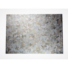 Latitude Run One-of-a-Kind Krogman Natural Patchwork Champagne/Ivory Cowhide Area Rug LTTN7162