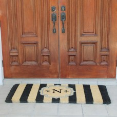 A1 Home Collections LLC First Impression Haywood Entry Double Doormat AHOC1185