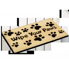 Red Barrel Studio Millstadt Wipe Your Paws Doormat RDBT6896
