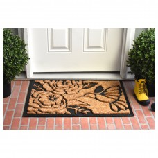 Winston Porter Krish Hummingbird Haven Doormat GCQR1017