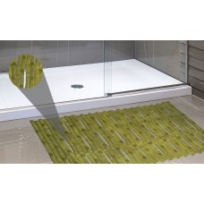 Ben and Jonah Bamboo Look Vinyl Bath Rug BANJ1336