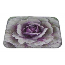Gear New Flowers Ornamental Cabbage Bath Rug GERN3850