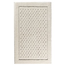 The St. Pierre Home Fashion Collection Graccioza Bio Luxury Linen Waffle Bath Mat STPH1289