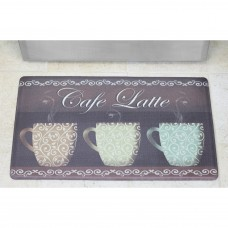 Chef Gear Café Latte Anti-Fatigue Cushioned Chef Kitchen Mat CGER1005