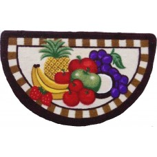 Daniels Bath Half Moon Fruit Kitchen Mat DBAS1152