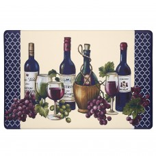 Fleur De Lis Living Constance French Vinyard Extra Heavy Anti Fatigue Kitchen Mat FDLL3101