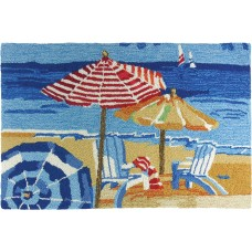 Rosecliff Heights Truman Day At The Beach Mat ROHE3183