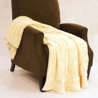 BOON Throw Blanket Swirl Faux Fur Throw Blanket NBNF1085