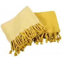 Highland Dunes Gargano Premium Thermal 100 Cotton Throw Hwde1011