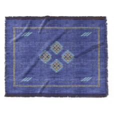 Union Rustic Loesch Kilim Woven Blanket UNRS4407