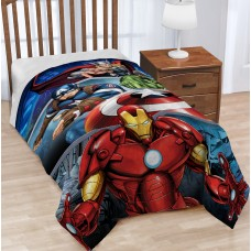 Warner Brothers Marvel Avengers Destroyer Plush Throw WNRB1061