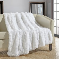 Willa Arlo Interiors Kostya Shaggy Supersoft Ultra Plush Decorative Throw Blanket WLAO2981