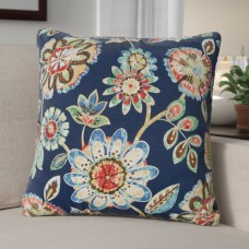 Andover Mills Billings Magnolia Outdoor Throw Pillow ANDV1258