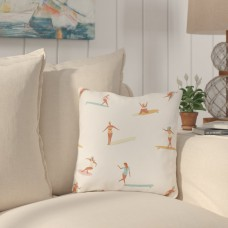 Bay Isle Home Pickering Surf Babes Outdoor Throw Pillow HMW11275