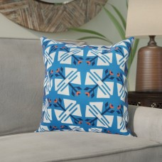 Bungalow Rose Willa Jodhpur Ditsy Geometric Outdoor Throw Pillow BNGL5710