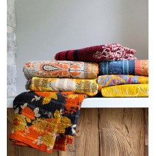 Bloomsbury Market Roepke Upcycled Throw VVRA1868