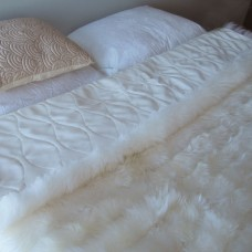 Bowron Sheepskin Bowron Accessories Lambskin Minx Wool Throw BW1046