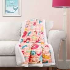 Harriet Bee Rivero Sherpa Throw HBEE2625