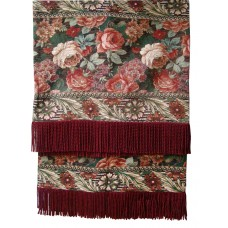 Textiles Plus Inc. Royal Floral Tapestray Throw TPY1286