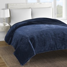 Williston Forge Blondene Double-Layer Fleece Reversible Bed Blanket WLFR6531