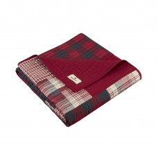 Woolrich Winter Hills Quilted Cotton Throw WLR1284